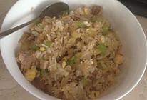 土豆青椒肉丝蛋炒饭的做法