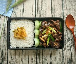 传统粤菜,耗油香菇牛肉便当,超级下饭!的做法