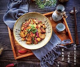 中秋家宴之干锅土豆片的做法