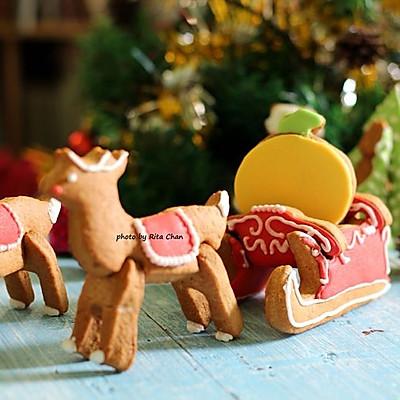 圣诞装饰姜饼