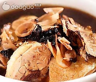 银耳香菇鸡汤