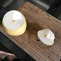 冰糖红枣枸杞炖雪梨的做法图解1