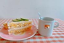 #夏日撩人滋味#日式鸡蛋沙拉三明治的做法