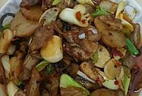 米豆腐回锅肉的做法
