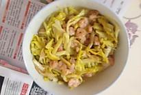 韭黄虾仁的做法