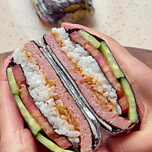 #monbento为减脂季撑腰#超快手折叠饭团 好吃减脂