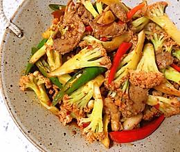 年轻人都爱吃的干锅菜花的做法