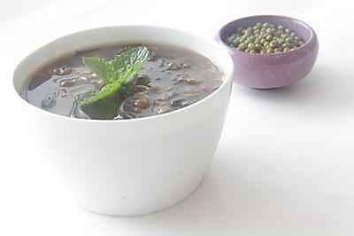 清热消暑食品——海带绿豆沙