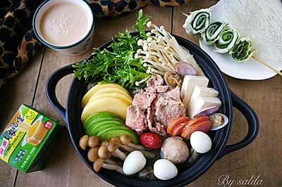 蛤蜊羊肉滋补火锅