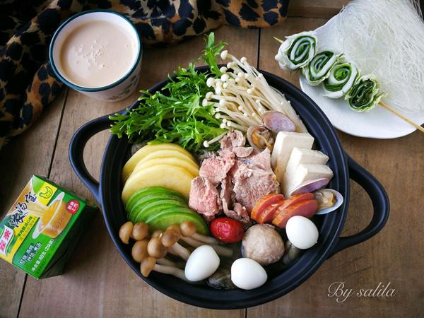 蛤蜊羊肉滋补火锅的做法