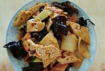 炒过油豆腐的做法