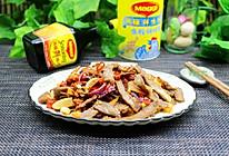 下酒菜,泡椒牛肉#美食美刻 乐享美极#的做法