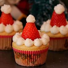 圣诞海绵纸杯蛋糕#安佳烘焙学院#