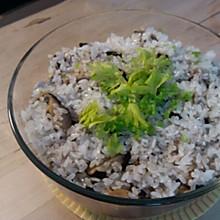 香菇糯米蒸排骨