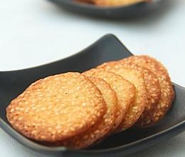 香脆芝麻薄饼的做法