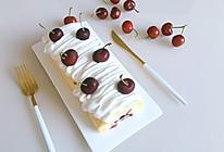 樱桃蛋糕卷(超详细多图教你卷不裂)的做法