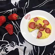 #精品菜谱挑战赛#草莓酸奶糕