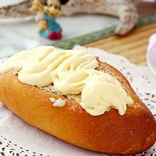 #我为奥运出食力# 草莓法罗夫蛋奶冰激凌配法罗夫面包