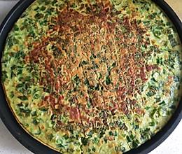 吃韭菜的季节,做个韭菜鸡蛋煎饼778的做法