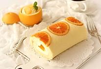 清新不腻香橙蛋糕卷的做法