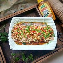 蒜烤金针菇#太太乐鲜鸡汁蒸鸡原汤#