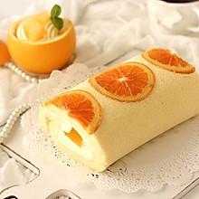清新不腻香橙蛋糕卷
