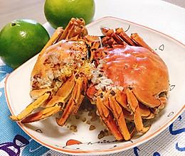 #肉食者联盟# 趁热吃!盐焗大闸蟹!的做法