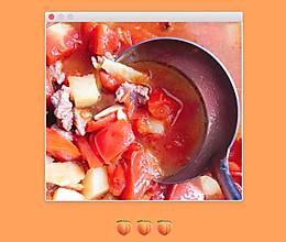牛腱子肉柿子汤的做法