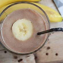 巧克力香蕉牛奶冰沙#松下破壁机#