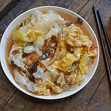 #换着花样吃早餐#白菜腐皮猪肉肠粉