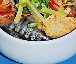 韩式辣白菜鲭鱼汤的做法
