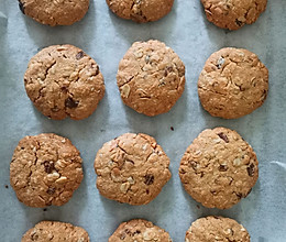 燕麦花生椰蓉饼干的做法