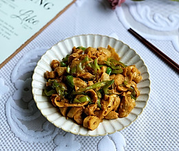 #营养小食光#快手简单比肉还好吃素炒面筋的做法
