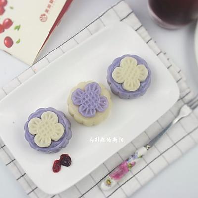奶酪蔓越莓冰皮月饼