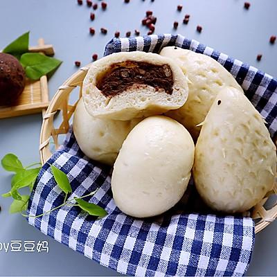 养胃红豆包