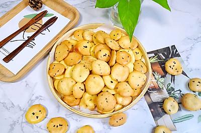 【鸡蛋芝麻小饼干】,小时候的味道!