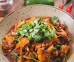 #美食视频挑战赛# 鸡公煲的做法