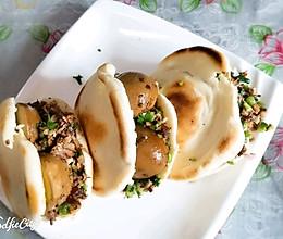 西安名小吃,白吉馍,肉夹馍的做法