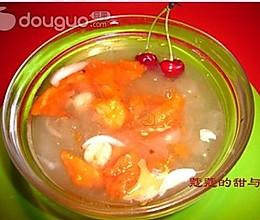 桂花银耳莲子百合木瓜盅的做法