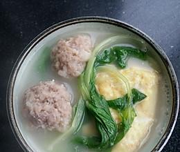 肉圆汤的做法