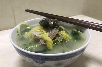 自创三鲜汤