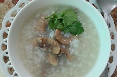做一道简单即美味的早餐---猪腰煲粥
