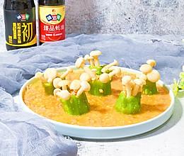 金沙海鲜菇的做法