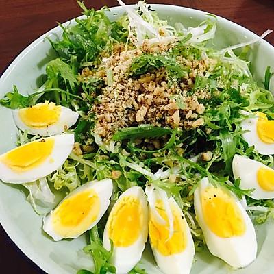 苦苣沙拉(咱也不知能不能瘦)
