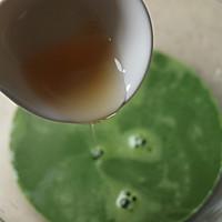 ~水玉抹茶夹心蛋糕卷~一抹清新绿的做法图解6