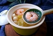 无油低卡营养-虾仁海鲜菇烧白菜汤#中粮我买,超模滋料大公开#的做法