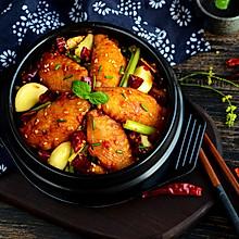 川味干锅鸡翅#金龙鱼外婆乡小榨菜籽油 最强家乡菜#