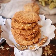 燕麦核桃酥饼