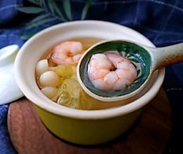 无油低卡营养-虾仁海鲜菇烧白菜汤#中粮我买,超模滋料大公开#