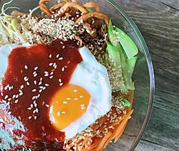 轻食更健康~低卡版韩式拌饭的做法